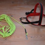 We buy our tracking equipment from Björkis, www.bjorkis.se, and prefer to use a plastic line that doesn't tangle.
