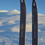 Backcountry skis are recommended for this type of trip.