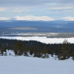 The Pallas-Ylläs mountain range.